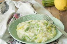 Risotto con zucchine al profumo di limone Bimby