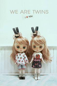 Middie blythe twins | da 汪囧囧