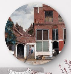 Creëer sfeer in je interieur met dit ronde schilderij 'Botanisch met palmbomen' van Ernst Haeckel. Deze muurcirkel / wandcirkel is gemaakt van luxe materiaal (alu-dibond met matte afwerking). Het is een prachtige Hollandse oude meester voor in de woonkamer, slaapkamer, hal of kantoor. De wanddecoratie is van het merk HIP ORGNL.  Bestel hier een origineel exemplaar met unieke grafische touch, uitsnede en signatuur. #wanddecoraties #muurcirkels #wandcirkels #interieur #hiporgnl Johannes Vermeer, Mirror, Ernst Haeckel, Furniture, Home Decor, Interior Design, Home Interior Design, Arredamento, Mirrors