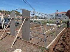 Cómo hacer tu propio invernadero con tubos de PVC – huertaelcampichuelo