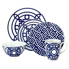 "Hermes look for less. Z Gallerie - ""Mykonos Dinnerware"""