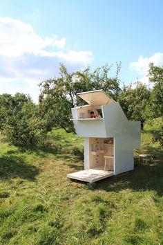 Weekend Cabin: Spirit Shelter - When ancient Greek philosophy and childlike imagination combine