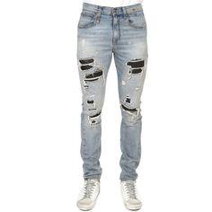 5a0ba3d87849 R13 Skate Jean ($575) ❤ liked on Polyvore featuring men's fashion, men's  clothing, men's jeans, designers, home, men's, r13, mens super skinny jeans,  mens ...