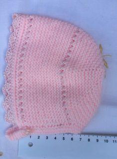 GORRITO DE PRIMERA POSTURA Material Lana especial bebé marca Katia color  rosa (color 84906 ac7ab51b674