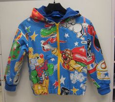 Recycled children's retro jacket