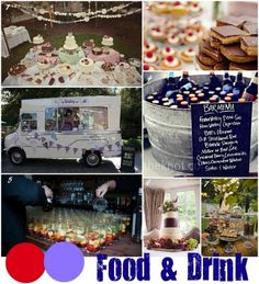 Inspiration Boards: Claire and Tom's Red and Purple Carnival Style Wedding (Part 2)