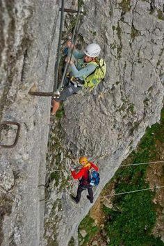 Klettersteig Klamml - Bild: © Roland Schonner