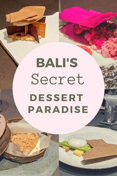 Bali is praised for it's food scene but hidden in the hills of Ubud is one of the Island's best foodie secrets and dare I say, the best dessert experience I have had to date. Welcome to Room4Dessert