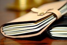 SOMNIUM LEATHER - Prototipo de novo Notebook Cover com novo sistema de fecho (c)