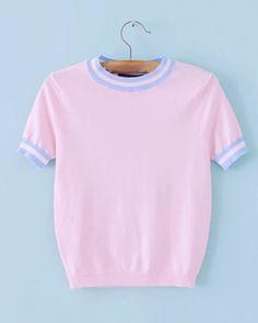 Pink Ringer Top