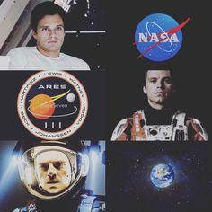 Sebastian Stan as Chris Beck (The Martian)