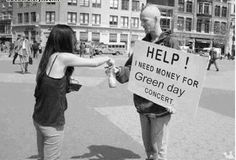 Always help out a fellow Green Day fan.