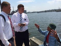 Wright Words: Spending the day with the Baltimore Mormon missionaries on #socialmediasplit | Deseret News