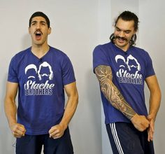 Stache Brothers OKC Thunder