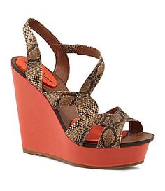 Lucky Brand Yulia Wedge Sandals