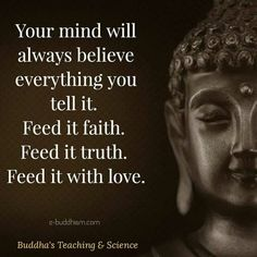 Dont brainwash your mind with lies, illusions, and hearsay...experience the truth firsthand and then believe...the mind is a terrible thing to waste. Nurture it wisely and well. Imagination often helps us in taking those 'leaps of faith' but should be reined in with caution & good sense (intuition/conscience).