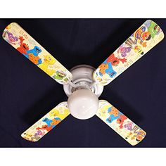 Special Offers - Ceiling Fan Designers Sesame Street Elmo Big Bird Indoor Ceiling Fan - In stock & Free Shipping. You can save more money! Check It (June 06 2016 at 03:01AM) >> http://hepaairpurifierusa.net/ceiling-fan-designers-sesame-street-elmo-big-bird-indoor-ceiling-fan/