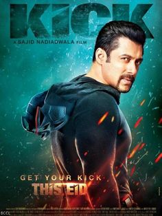 Releasing on EID 2014, a look at the official poster of the film Kick starring Bollywood megastar Salman Khan.