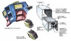 Odaiba, Super Robot, Mechanical Design, Mobile Suit, Anime, Animation, Illustration, Robots, Yahoo