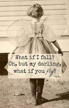 Falling is flying even in brief. Ke... 💯