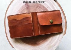 Use discount code EASTERLK18 to get 18% OFF for Easter gifts 2018. --- Overview --- - Size: 11cm x 9.5cm (~ 4.3 inch x 3.7 inch) - High quality cowhide, handmade - 10 COLORS, 04 STYLES OF WALLET, NAME/TEXT/IMAGE... ENGRAVING --- CUSTOMIZATION : ENGRAVING NAME/TEXTS/IMAGES --- - Please use