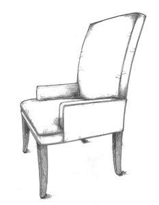HF 258   Dining Chair   Hallman Furniture