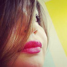 Le bien joli rouge à lèvres de Sarah M. !