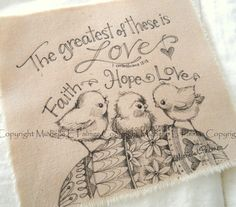 Sweet little friends find their way into my heart and I love to sketch them for you!    Original pen & ink illustrations on fabric.  March 2015