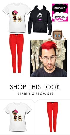 """Going to a Meet and Greet; Meeting Markiplier; You and Mark"" by leafyismydaddy ❤ liked on Polyvore featuring J Brand"