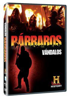 Diseño publicitario de DVD's - Stop Diseño Gráfico - Diseño de Vándalos2 - Bárbaros - History Channel.