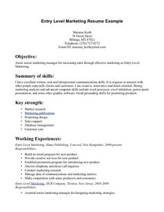 customer service cover letter entry level entry level marketing cover letter sample how to write a cover
