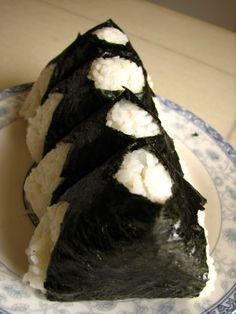 Onigiri! (Tuna) I miss it so very very much. They need to open a Family Mart/Lawson in the states....yeah, That's gonna happen...