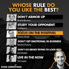 Whose rule do you need most in your life right now? Tag the person and comment below! -------------------- Welcome to the Family : -------------------- Comment Squad - Thank you for your recent comments: -------------------- How To Look Rich, That Look, Kevin O'leary, Welcome To The Family, Do You Need, Live In The Now, Right Now, Squad, Entrepreneur