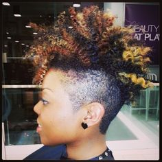 Astounding 1000 Images About Frohawk Styles On Pinterest Natural Hair Short Hairstyles For Black Women Fulllsitofus