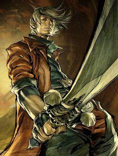 Tags: Anime, Devil May Cry, Nero, Dante, Pixiv