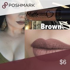 Spotted while shopping on Poshmark: Brown matte lipgloss! #poshmark #fashion #shopping #style #Other