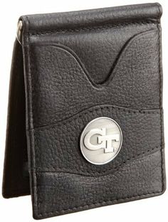 Danbury Men's Georgia Tech Front Pocket Money Clip, Black, One Size Danbury. $26.50. Inside metal currency clip, exterior and interior ID windows, six credit card pockets. Packaged in collectable gift tin, antique style university ornament in center of wallet. Made in India. 100% Leather. Hand Wash