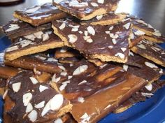 Graham Cracker Cookie Bars- making these for the Christmas Eve party.