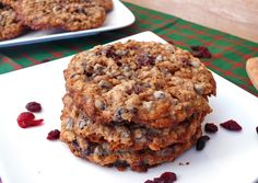 Chip and Cranberry Oatmeal Cookies