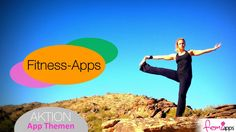 """FIT & GESUND  AKTION: APP-THEMA """"FITNESS-APPS"""" (IPHONE & ANDROID)"""