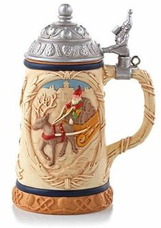 Christmas Beer Stein ornament