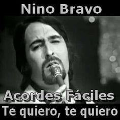 Nino Bravo - Te quiero, te quiero acordes (facil)
