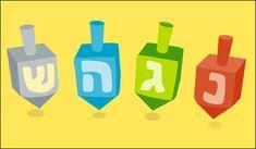 Hanukkah Ideas - How to Play Dreidel