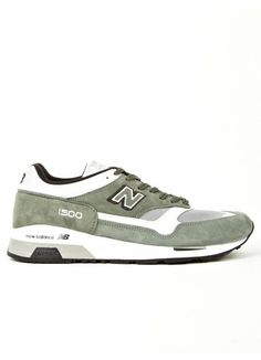 buy online 71c34 6fe46 New Balance Men s Green M1500MWG Made in England Sneakers Zapatillas,  Calzas, New Balance Hombres