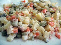 A La Rousse Salad (Romanian)