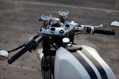 moto clasic modification: Yamaha XT 500 Café Racer