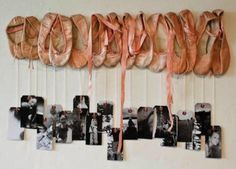 what do you do with your old pointe shoes?