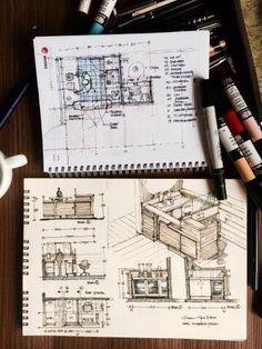 Interesting Find A Career In Architecture Ideas. Admirable Find A Career In Architecture Ideas. Architect Sketchbook, Landscape Architecture Model, Architecture Drawing Sketchbooks, Conceptual Architecture, Architecture Concept Drawings, Architecture Collage, Architecture Portfolio, Architecture Diagrams, Portfolio D'architecture