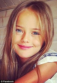 Elizabeth Hiley looks 'exactly' like supermodel Kristina Pimenova | Daily Mail Online