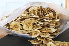 Banana chips ... another recipe for my dehydrator.  :)